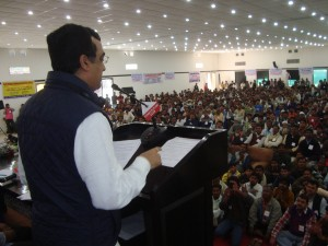 Sri Ajay Maken at Hawkers Joint Action Committee meeting