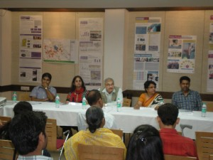 Panel Discussion organized by the Global Studio, PRIA, School of Planning and Architecture on 4th Oct to Launch the Touring Exhibition on Inclusive Cities.