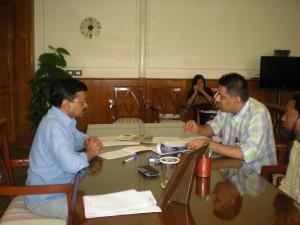 Meeting Delhi CM 1